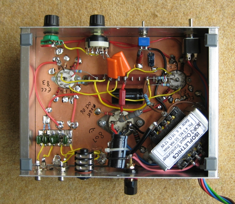 Simple Tone Control Circuit Using The Lm301a Hi Fi Simple Tone Control